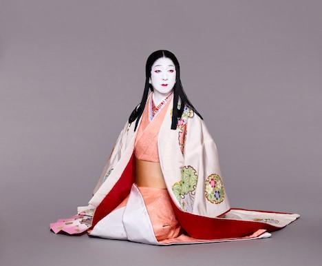 「本朝白雪姫譚話」より、坂東玉三郎扮する白雪姫。(撮影:下村一喜)