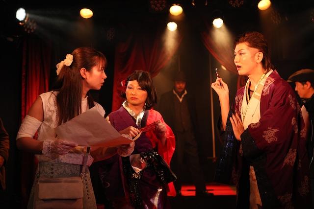 錦織純平presents「怪盗!お嬢様の憂鬱な回答」より。