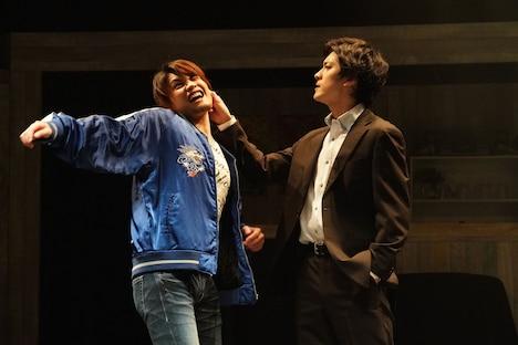 水木英昭プロデュース15周年記念 紀伊國屋書店提携公演「蘇州夜曲」より。