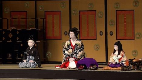 左から中村勘太郎、中村七之助、中村長三郎。(c)フジテレビ