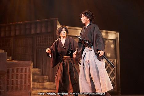 「舞台『刀剣乱舞』維伝 朧の志士たち」ゲネプロより。