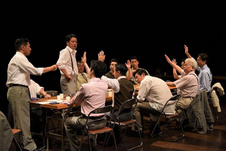 SENDAI座☆プロジェクト「十二人の怒れる男」過去公演より。(撮影:宮内勝)