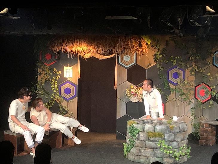 劇団かもめんたる 第8回公演「GOOD PETS FOR THE GOD」より。