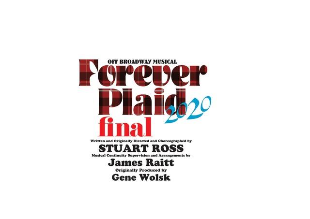 「オフ・ブロードウェイ・ミュージカル『Forever Plaid(フォーエヴァー プラッド)』」ロゴ