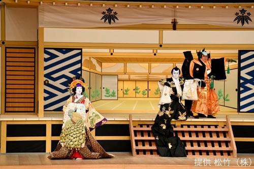 「十二月大歌舞伎」昼の部より「壇浦兜軍記 阿古屋」。(c)松竹