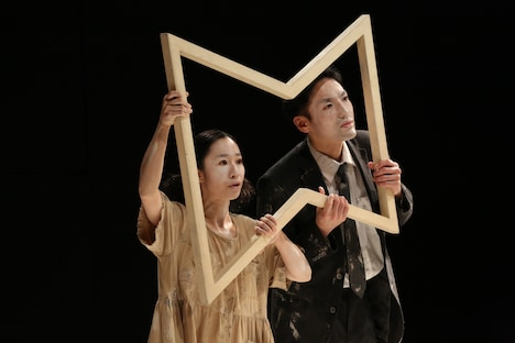 文学座12月アトリエの会「メモリアル」より。(撮影:宮川舞子)