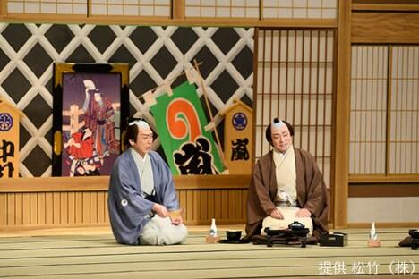 「十二月大歌舞伎」昼の部より「たぬき」。(c)松竹