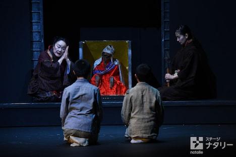 KAAT神奈川芸術劇場プロデュース「常陸坊海尊」より。