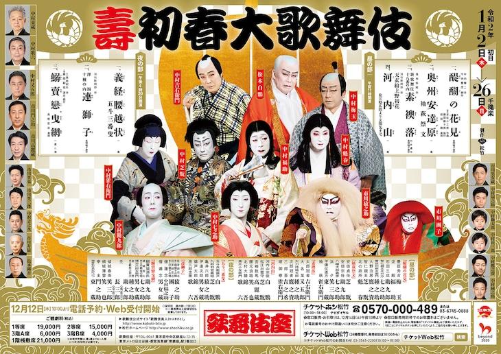 「壽 初春大歌舞伎」本チラシ