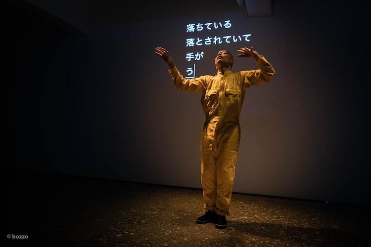 TOKAS OPEN SITE 2019-2020 フィジカルシアターカンパニーGERO「踊ってから喋るか?喋ってから踊るか?」より。(Photo by bozzo)