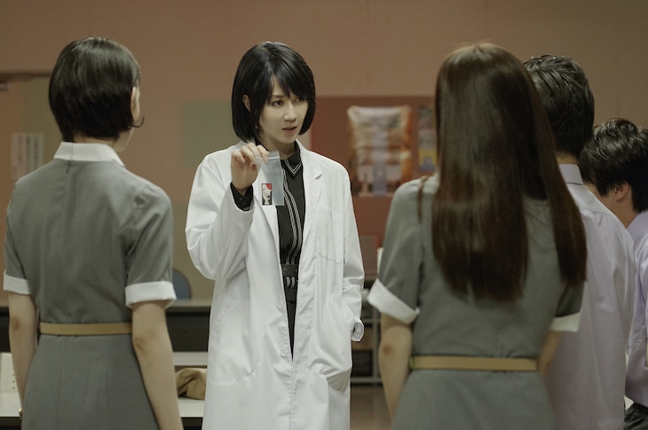 映画「青の生徒会 参る! season1 花咲く男子たちのかげに」より。