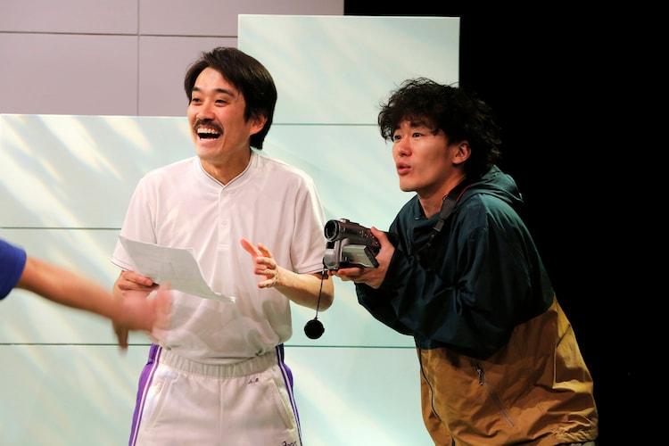 ゴジゲン 第16回公演「ポポリンピック」より。(撮影:シム・ウヒョン)