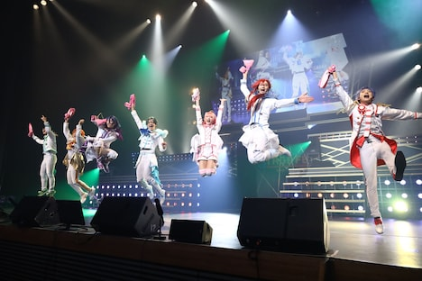 STAGE FES 2019-2020」より、舞台「KING OF PRISM -Shiny Rose Stars-」のキャスト。