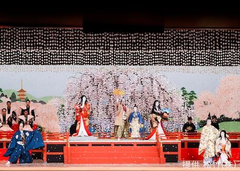「壽 初春大歌舞伎」昼の部「醍醐の花見」より。