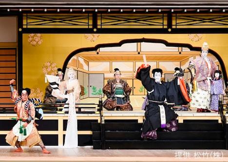 「壽 初春大歌舞伎」昼の部「奥州安達原 袖萩祭文」より。