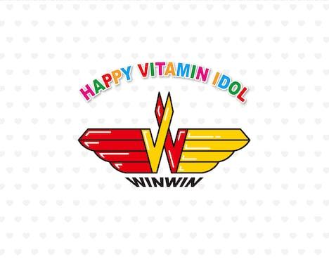 「ハッピー・ビタミンアイドル WINWIN」のBlu-rayのジャケット。