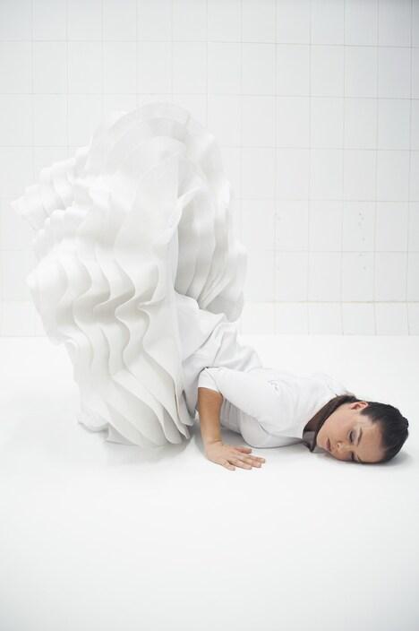 ロシオ・モリーナ舞踊団「Caida del Cielo Fallen from Heaven―天から落ちてきて―」ビジュアル