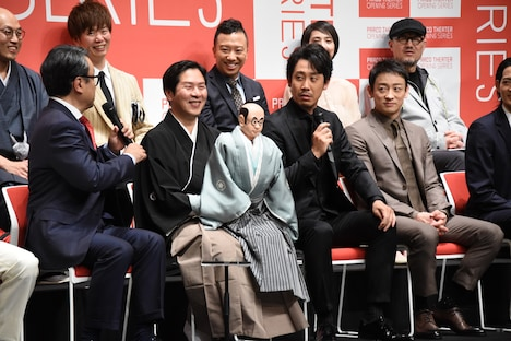 PARCO劇場お披露目&オープニング・シリーズ記者会見より。