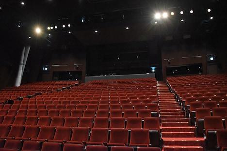 パルコ劇場の客席。