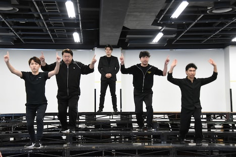 「CHESS THE MUSICAL」稽古の様子。