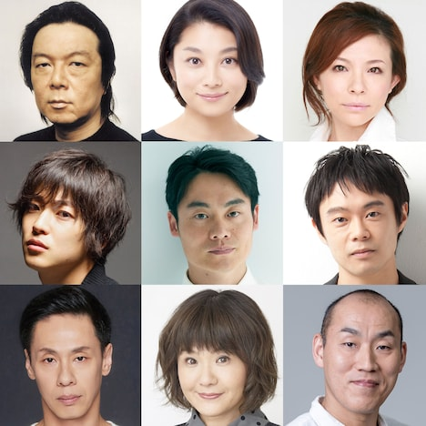 """KERA×古田新太""新企画 新作公演の出演者。"
