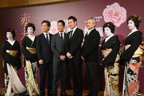 「赤坂大歌舞伎『怪談 牡丹燈籠』」制作発表会見より。