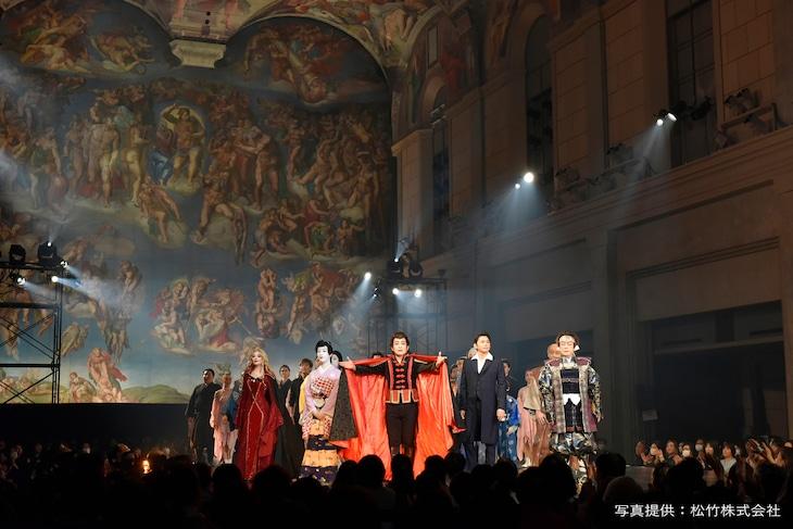 第10回 システィーナ歌舞伎「NOBUNAGA」より。(写真提供:松竹株式会社)