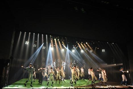 ダブルヘッダー特別公演「『おおきく振りかぶって』 / 『おおきく振りかぶって 秋の大会編』」ゲネプロより。