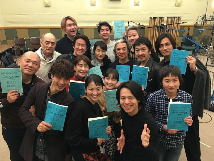 NHK-FM「青春アドベンチャー『ハプスブルクの宝剣』」出演者(写真提供:NHK)