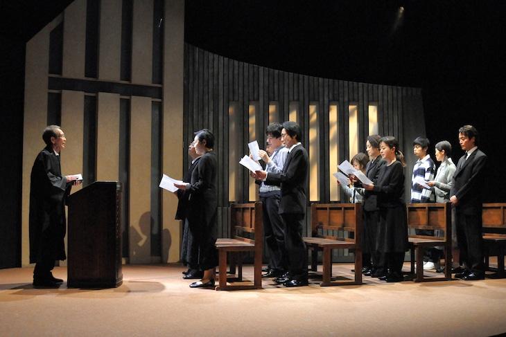 劇団青年座 第241回公演「ありがとサンキュー!」より。(撮影:坂本正郁)
