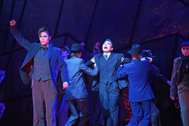 宝塚歌劇雪組 ミュージカル「ONCE UPON A TIME IN AMERICA」より。