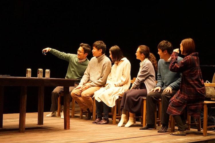 劇団た組 第20回目公演「誰にも知られず死ぬ朝」より。