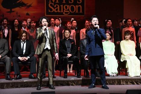 左から西川大貴、神田恭兵。