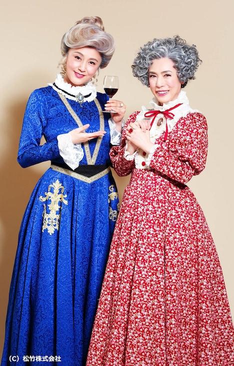 二〇二〇年 松竹特別公演「毒薬と老嬢」ビジュアル