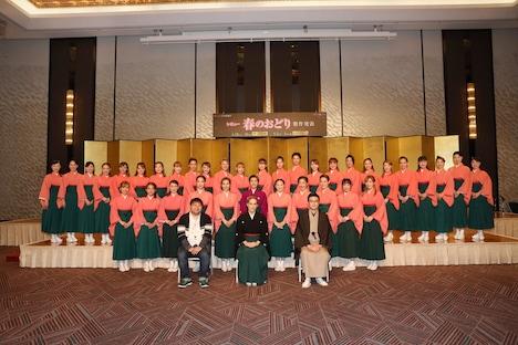 OSK日本歌劇団「レビュー春のおどり」製作発表より。