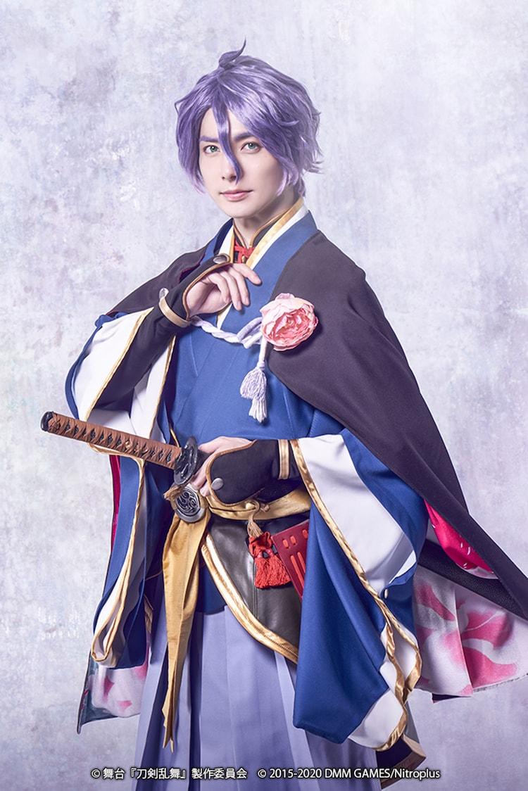 和田琢磨扮する歌仙兼定。