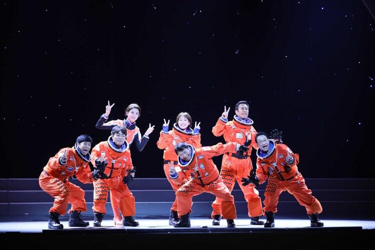 熱海五郎一座「東京喜劇『翔べないスペースマンと危険なシナリオ~ギャグマゲドンmission~』」より。