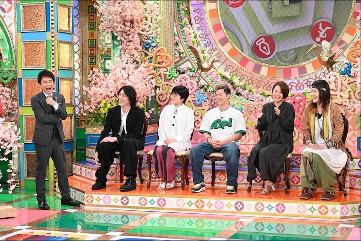 MBS・TBS系「プレバト!!」より。左から2番目が宮尾俊太郎。(c)MBS