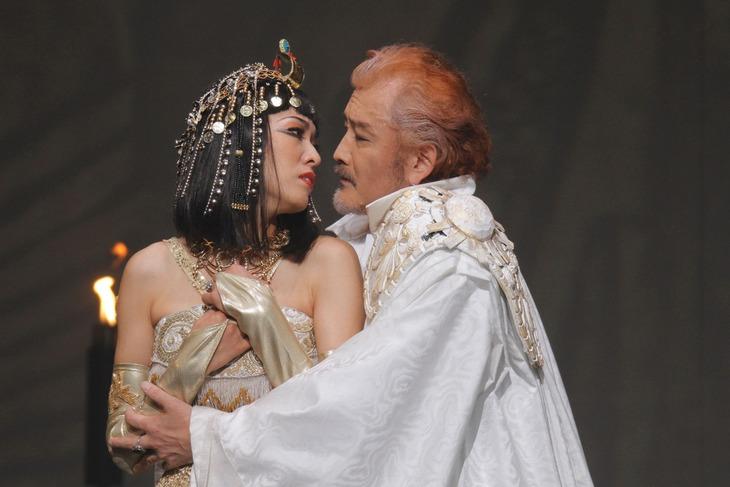 「アントニーとクレオパトラ」より。(撮影:清田征剛)