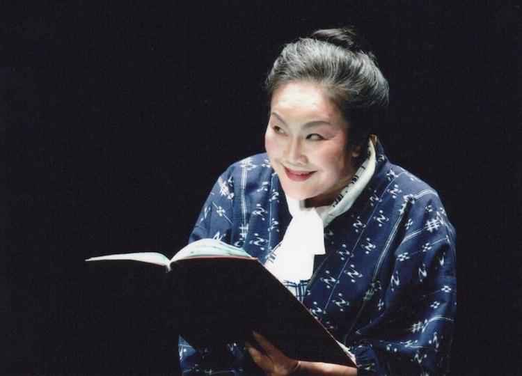 白石加代子「百物語」シリーズ「筒井康隆作『五郎八航空』」より。