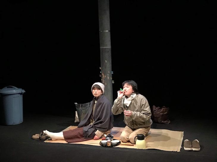 広田ゆうみ+二口大学 2019年ツアー「この道はいつかきた道」より。