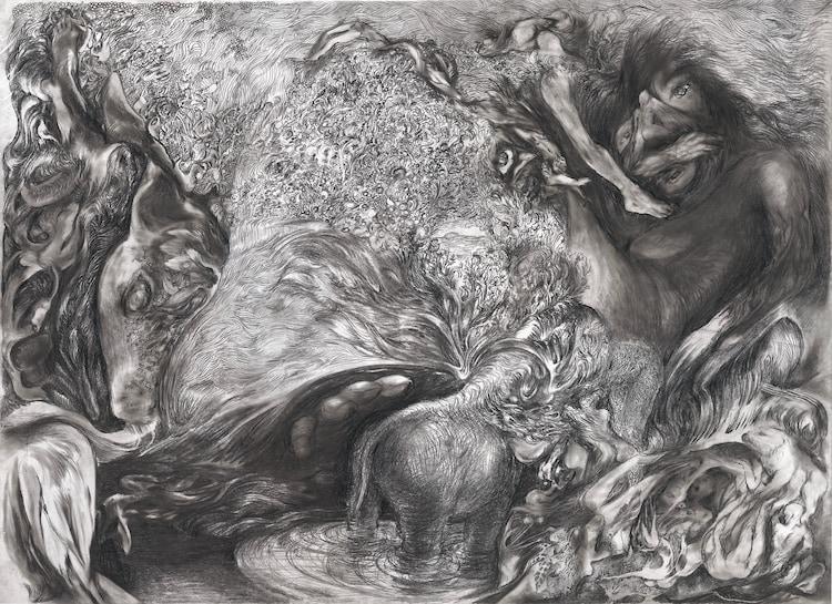 勅使川原三郎のドローイング(Drawing by Saburo Teshigawara)