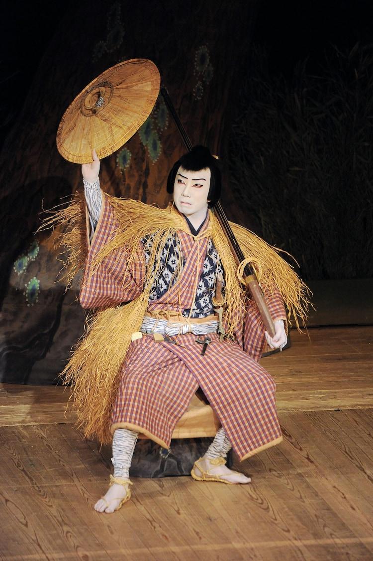 2012年4月上演「仮名手本忠臣蔵 五段目」より、市川猿之助演じる早野勘平。(c)松竹