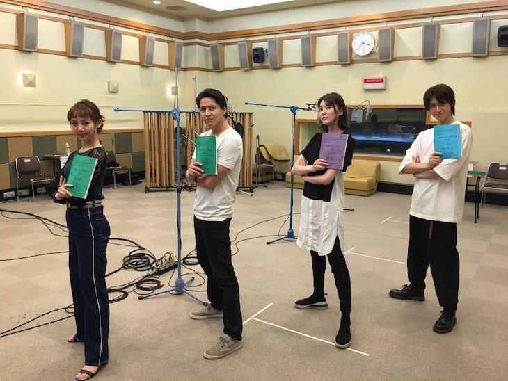 NHK-FM「青春アドベンチャー『悠久のアンダルス』」出演者(写真提供:NHK)