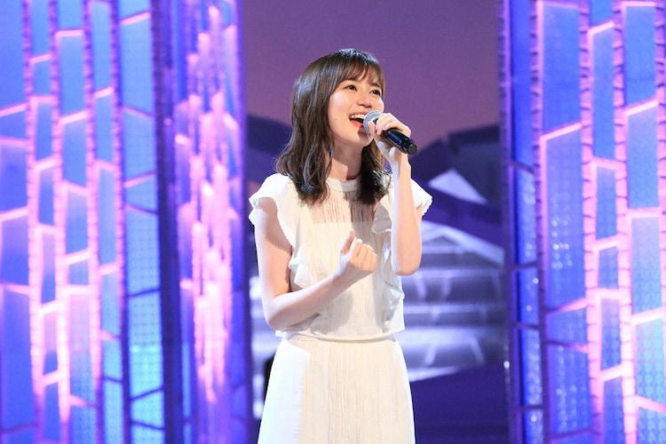 フジテレビ系「MUSIC FAIR」より、生田絵梨花。 (c)フジテレビ