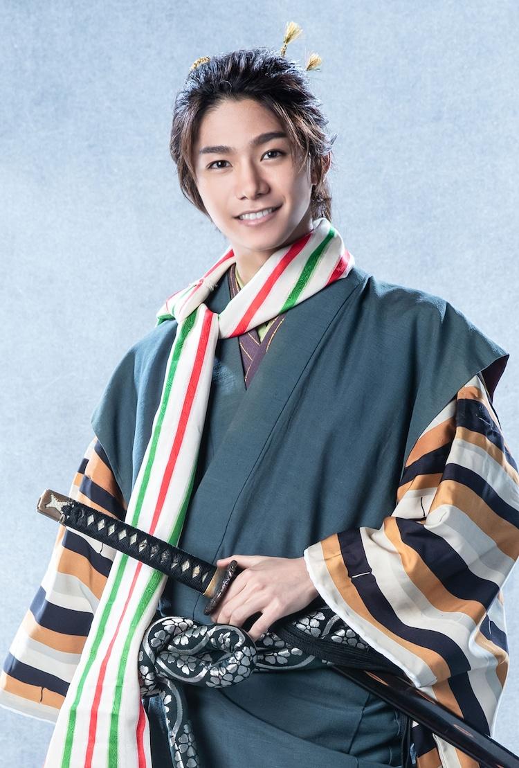 北川尚弥扮する伝吉。