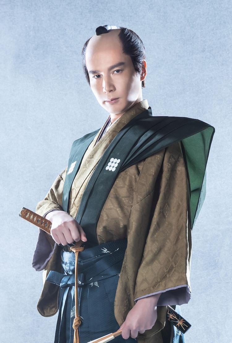 田邉幸太郎扮する保科正之。