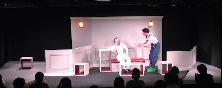 劇団かもめんたる 第9回公演「君とならどんな夕暮れも怖くない」より。