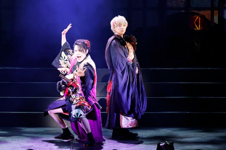 舞台「死神遣いの事件帖 -鎮魂侠曲-」より。