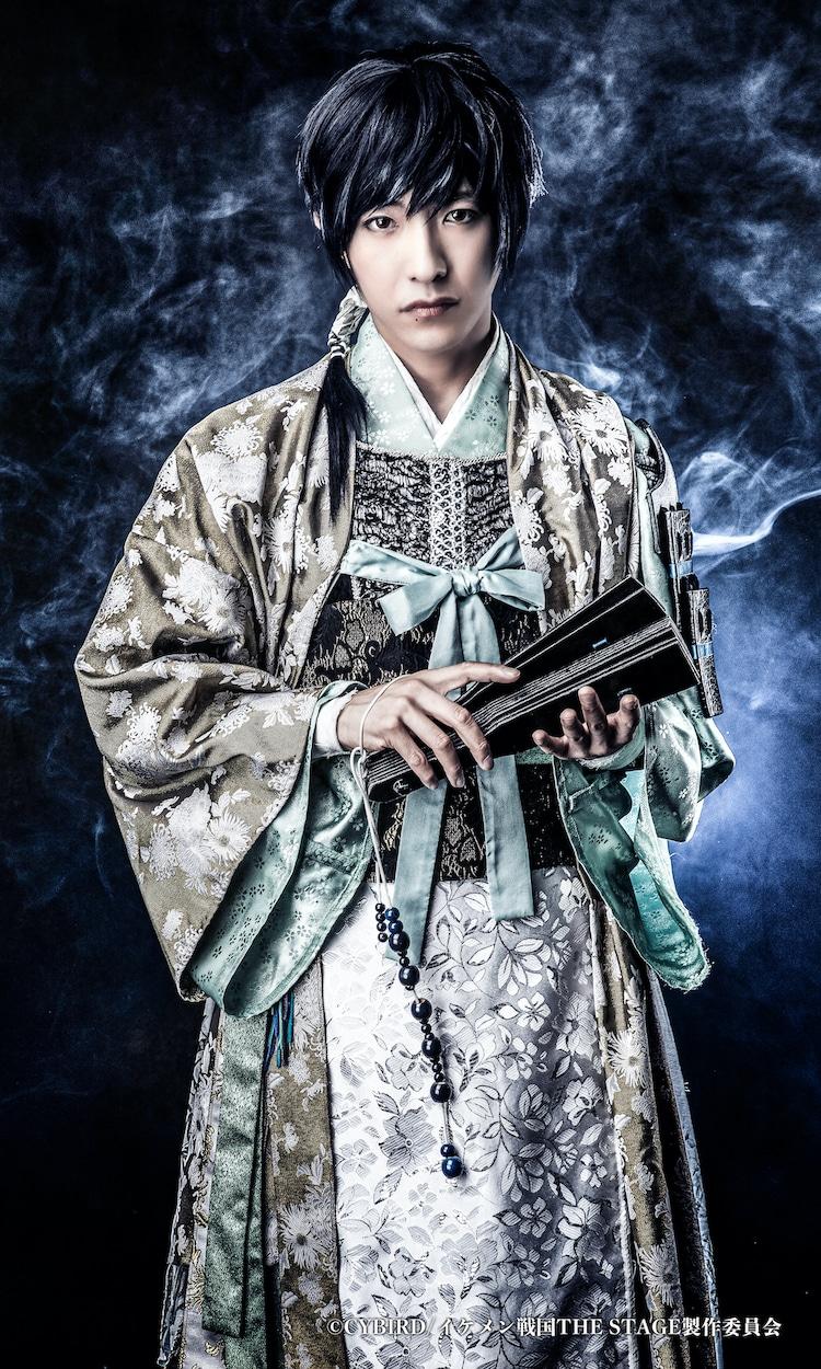 竹石悟朗扮する今川義元。